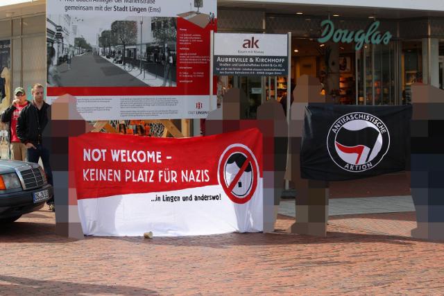 Antifaschistischer Protest