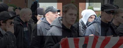 Emsländische Neonazis in Münster